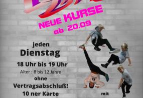 Neuer Breakdance Kurs September 2016